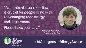 FSA Allergen Labelling Consultation