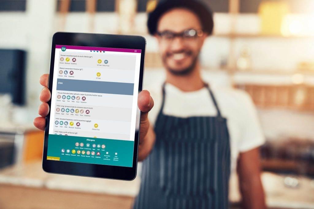 Menu Guide- an online allergen menu creation tool