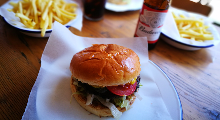 Burger at HATCH St Albans