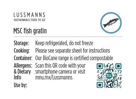Lussmanns Allergen Label